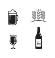 beer craft design vector image