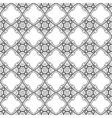 Black and White graphic pattern abstract backgroun vector image vector image