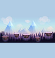 cartoon game background seamless background vector image vector image
