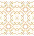 golden abstract geometry seamless pattern vector image vector image