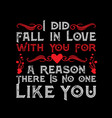 love quote for your relationship life good vector image vector image