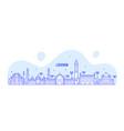 lucknow skyline uttar pradesh india city vector image