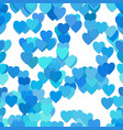repeating heart pattern background - from hearts vector image vector image