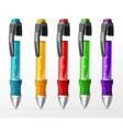 set pens vector image