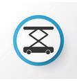 construction hoist icon symbol premium quality vector image