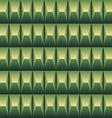 Green geometric pattern seamless