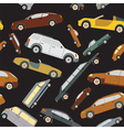 Passenger car background seamless vector image