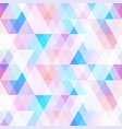 pastel color mosaic seamless pattern vector image vector image