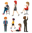 People vector image vector image