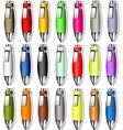Souvenir Color Pens vector image vector image
