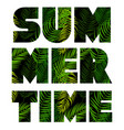 summer time abstract background vector image vector image