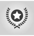 Award icon Priz symbol Flat vector image vector image