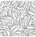 leaf nature on a white vector image vector image