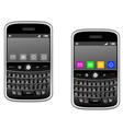 modern multimedia smartphone vector image vector image