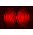 red circle abstract background vector image