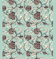seamless ornamental antique pattern vector image vector image
