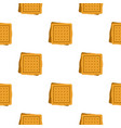 square cookies pattern seamless vector image