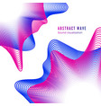 abstract color music album cover digital sound vector image vector image