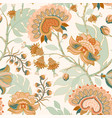 colorful paisley pattern for textile cover vector image vector image