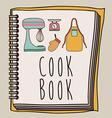Cook icon design vector image