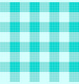 green mint tartan seamless background vector image