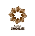 logo chocolate vector image vector image