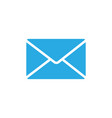 message flat icon vector image
