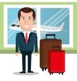 travel around the world design vector image vector image
