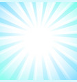 white rays star burst background pastel colors vector image