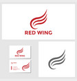 wing icon design template vector image vector image