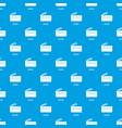 wristlet bag pattern seamless blue vector image vector image