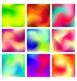 Abstract Blur Color Gradient Background vector image vector image