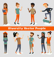 diversity people of a group vector image
