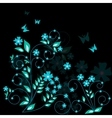 floral background - vector image