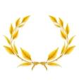Laurel Wreath Design Element vector image vector image
