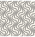 Seamless Hand Drawn Vertical Lines Pattern vector image
