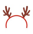 toy child horn holiday fun head wear vector image vector image