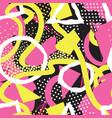 abstract seamless pattern blots dots geometric vector image vector image