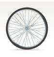 Bike tyre vector image vector image