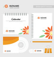 company design calender and diary also with vector image vector image