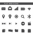 flat web icons 1244244114 vector image vector image