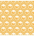 geometric cube seamless patternFashion graphic vector image vector image