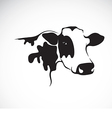 image an cow vector image vector image