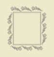 ornament decorative frame 02 vector image vector image