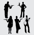 profession silhouette vector image