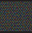 rainbow triangle mosaic pattern seamless vector image vector image
