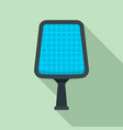 shallow water net icon flat style vector image