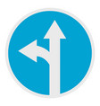 turn arrow icon flat style vector image vector image