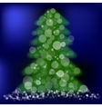 Green Pine vector image vector image