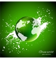Green world Ecology concept vector image